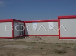 Ansambluri din containere modulare